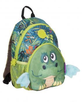wildpack junior Kinderrucksack mit Brustgurt - Drache