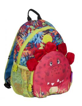 wildpack junior Kinderrucksack mit Brustgurt - Dinosaurier